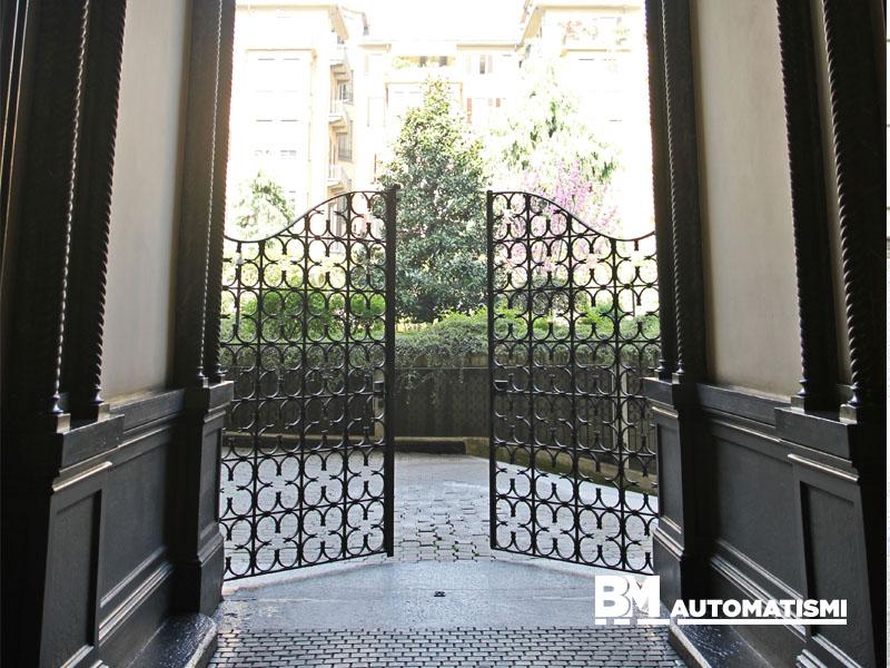 Cancello A Due Ante Battenti.Gallery Bm Automatismi
